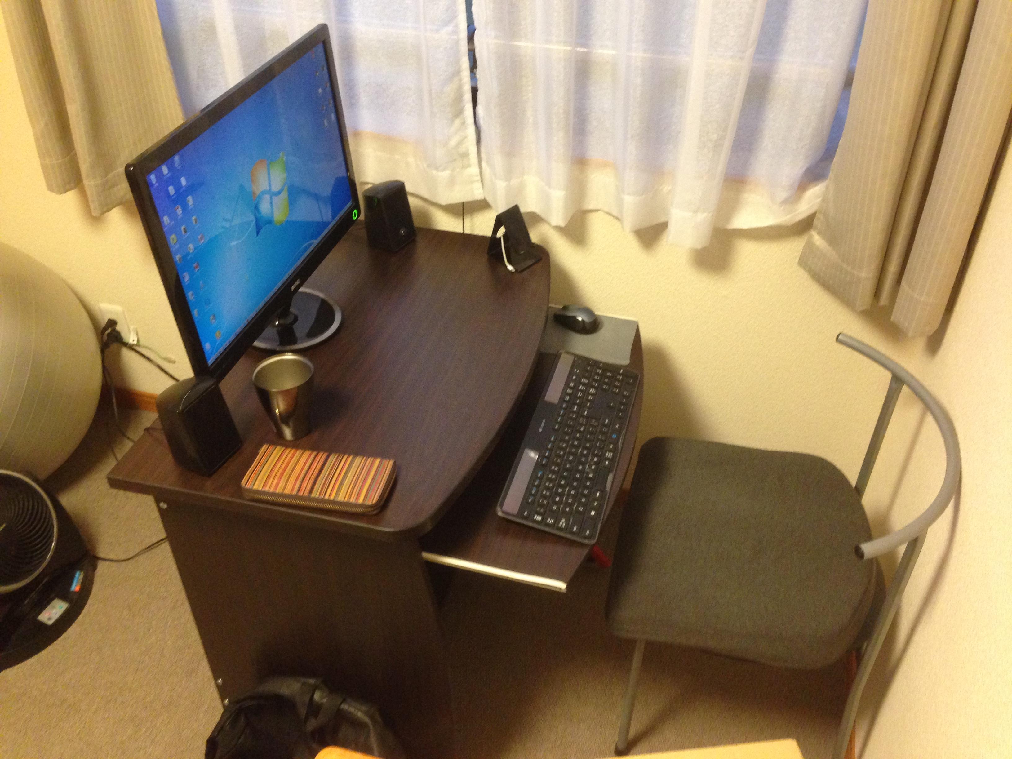 【作業効率化】ニトリで作業机を購入!机の上がスッキリ!整理整頓してみよう!
